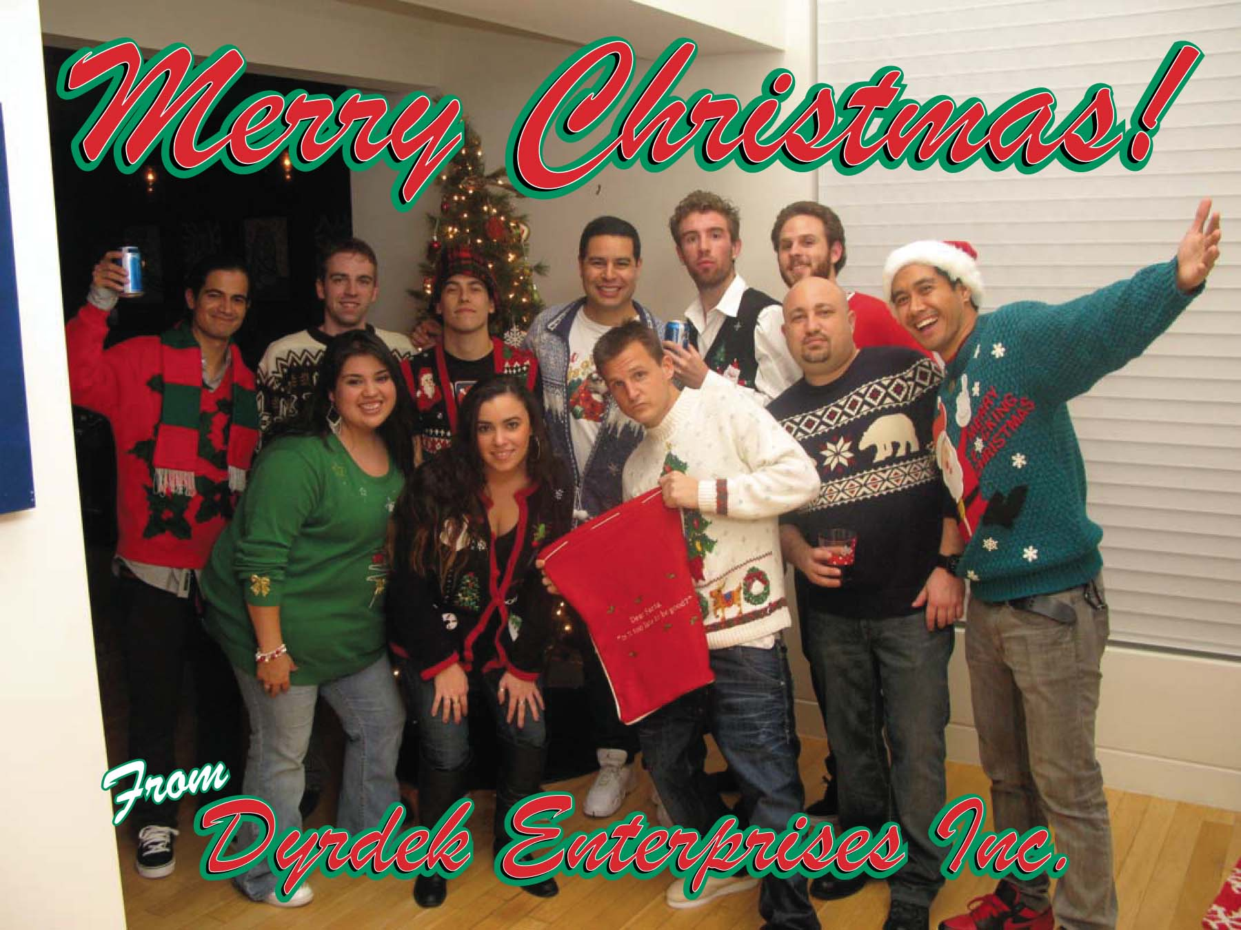 Merry Christmas from the Ugly Christmas Sweater Gang! | Corpo Life